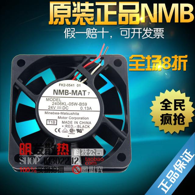 24 V ventilador 2406KL-05W-B59 6015 alarme de detecção de controle numérico A90L-0001-0511