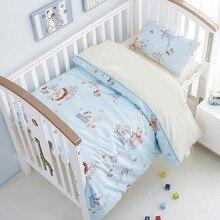 Pillowcase Bedding-Set Duvet-Cover Baby Bed-Sheet Linen Both-Girl Including for And Boy