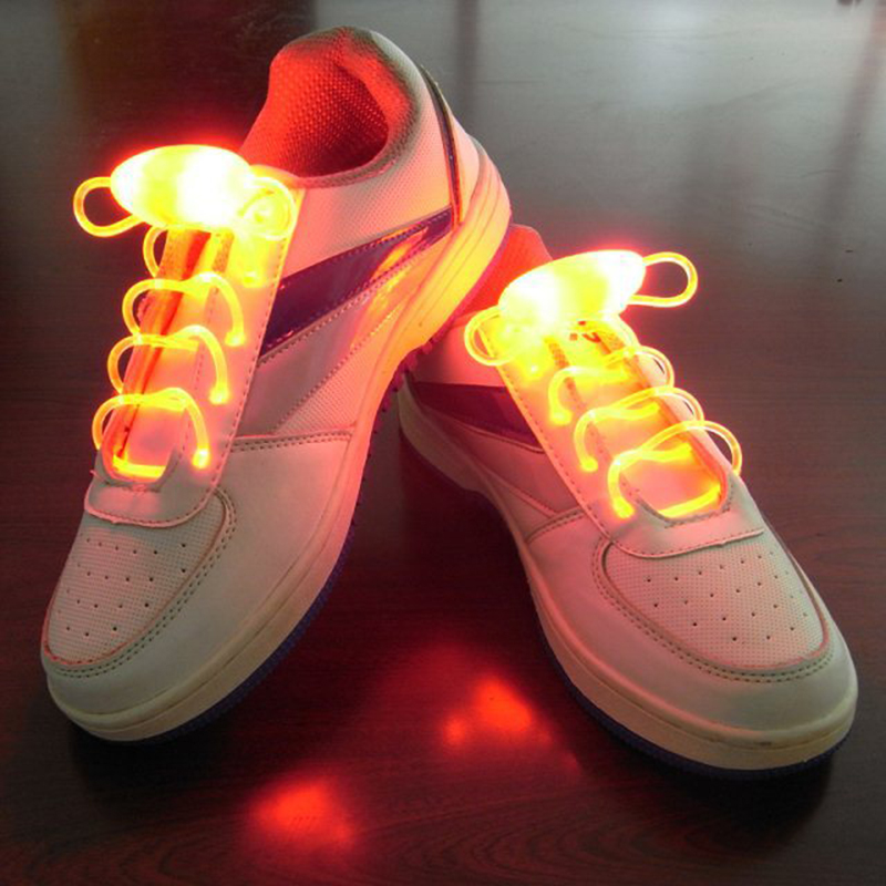 Luminous Shoe Lace New Children's Toys Flash Gifts LED Cartoon Lights Glow In Th