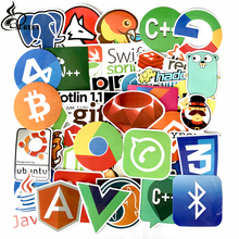 M-BEEN 50 Pcs Internet Java JS Php Html Cloud Docker