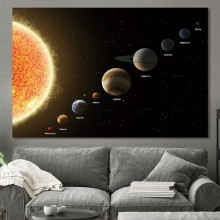 Landscape Poster Wall art Picture Print Cosmic planet Canvas Paintings for Living Room Unframed Prints