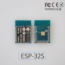 ESP-32S IoT WiFi Bluetooth module Dual-core CPU Ethernet port MCU Low-power Bluetooth ESP-3212  long cpu card picmg1 0 945 chip industrial machine dual ethernet port sys71838vga
