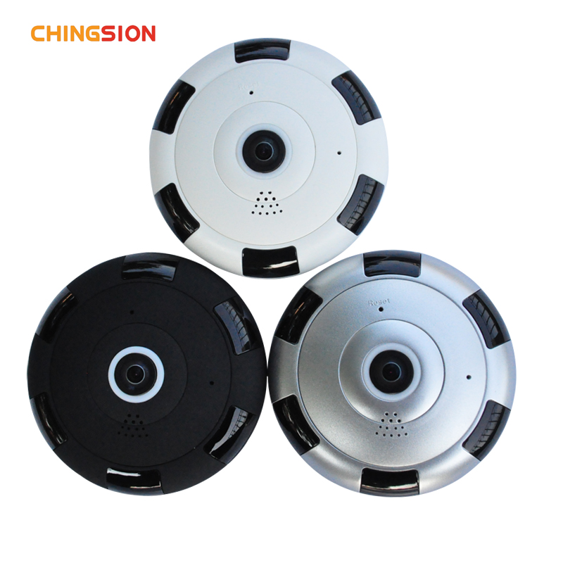 Chingsion IP camera 1080P 360 degree Full View Mini CCTV Camera Network Home Security WiFi Camera