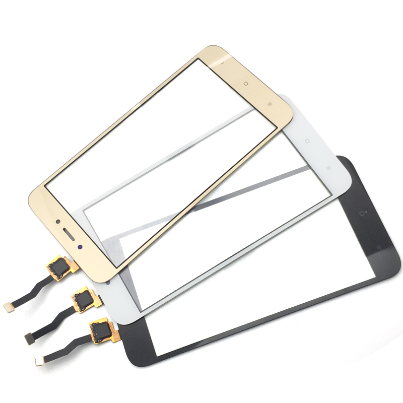 10 unids/lote, para Xiaomi Redmi 5A pantalla táctil Panel digitalizador vidrio lente Sensor