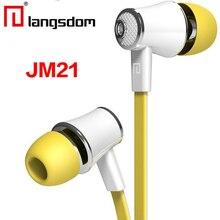 Original Langsdom JM21 JM26 EG5 Fones De Ouvido com Microfone Super Bass Fone de Ouvido Fone de Ouvido Para iphone xiaomi fone de ouvido para o Smartphone