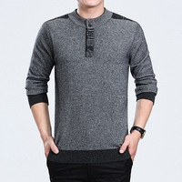 New Arrivals Mens Winter Thick Warm Sweaters O Neck Wool Sweater Men's Fashion Casual Jumper Knitwear Pullover Sweater for Men