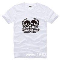 Green Day Punk Rock Printed Men S T Shirt T Shirt For Men 2015 New Short