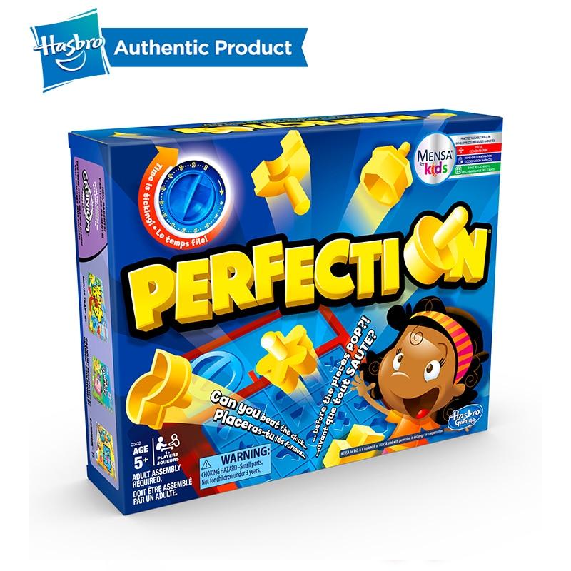 Hasbro Perfection jeu famille nuit plaisir jeu Hippos faim Trivial poursuite piège à souris ne pas briser la glace devinez qui enfants enfant - 2