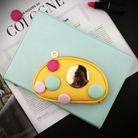 Girl Love Smart PU Leather Case Flip Cover For Apple IPad Air Air2 Mini 1 2