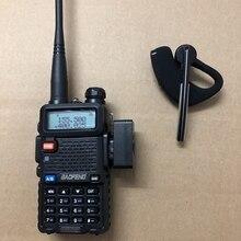 2019ใหม่Walkie Talkieหูฟังบลูทูธหูฟังไร้สายหูฟังหูฟังสำหรับBaofeng 888S UV5R UV 82 KD C1 Two Wayวิทยุ