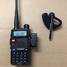 2019 new walkie talkie bluetooth earpiece headset Wireless Headphone Earpiece For Baofeng 888S UV5R UV 82 KD C1 two way radio