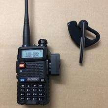 2019 yeni walkie talkie bluetooth kulaklık kulaklık kablosuz kulaklık kulaklık Baofeng 888S UV5R UV 82 KD C1 iki yönlü telsiz