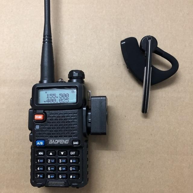 Baofeng auricular walkie talkie inalámbrico con bluetooth, dispositivo de audio con UV 82, radio bidireccional, KD C1, 2019 S, UV5R