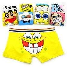 Cartoon Cueca Boxer Cotton young Men Brands Underwear Hombre Panties Male Superm