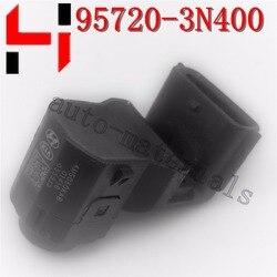 10 sztuk oryginalny czujnik parkowania PDC dla Hyundai 95720-3N400 czujnik ultradźwiękowy montaż czarny biały kolor 100% oryginalny czujnik