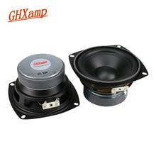 GHXAMP altavoz de graves Midrange para coche, 4 pulgadas, 30W, resistente al agua, altavoz para baño, estéreo, 1 par