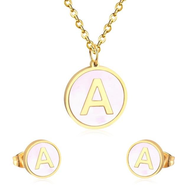 LUXUKISSKIDS Letter Jewelry...