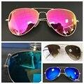 RainBrank 3025 пилот авиации настоящее высокое качество солнцезащитные очки с ограниченной версия для мужчин и женщин с аксессуарами пакетов бесплатная доставка