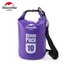 NatureHike 10L Outdoor Waterproof Dry Bags Ultralight Camping Hiking Dry Organizers Drifting Kayaking Swimming Bags FS15M010-J