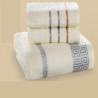 Cotton Luxury Bath Towel Sets For Adults Toalla Microfibras Coton Super Absorbent Cloth Cotton Towels Bathroom