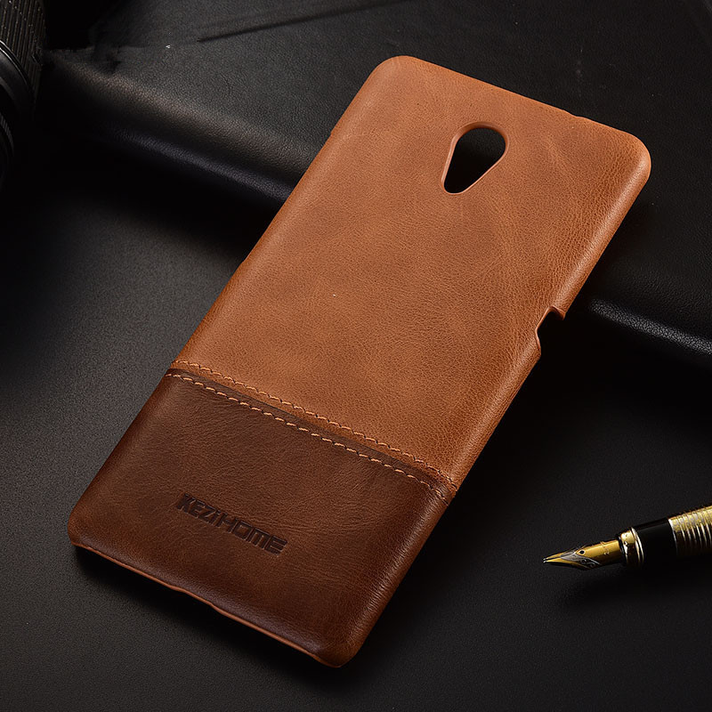 Luxury brand thin vintage genuine leather back cover case For Lenovo P2 phone cases and covers shell