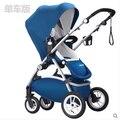 Fábrica de Luxo venda Quente!! anglebay alta-paisagem luxuoso do bebê carrinho de criança, carrinho de criança/carrinho de bebê, en1888 padrão, europa qualidade!