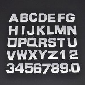 3D DIY 25mm Car Stickers for BMW Audi Honda Volkswagen Mercedes Skoda Ford Peugeot Toyota Opel Mazda Seat Volvo Subaru Sticker(China)