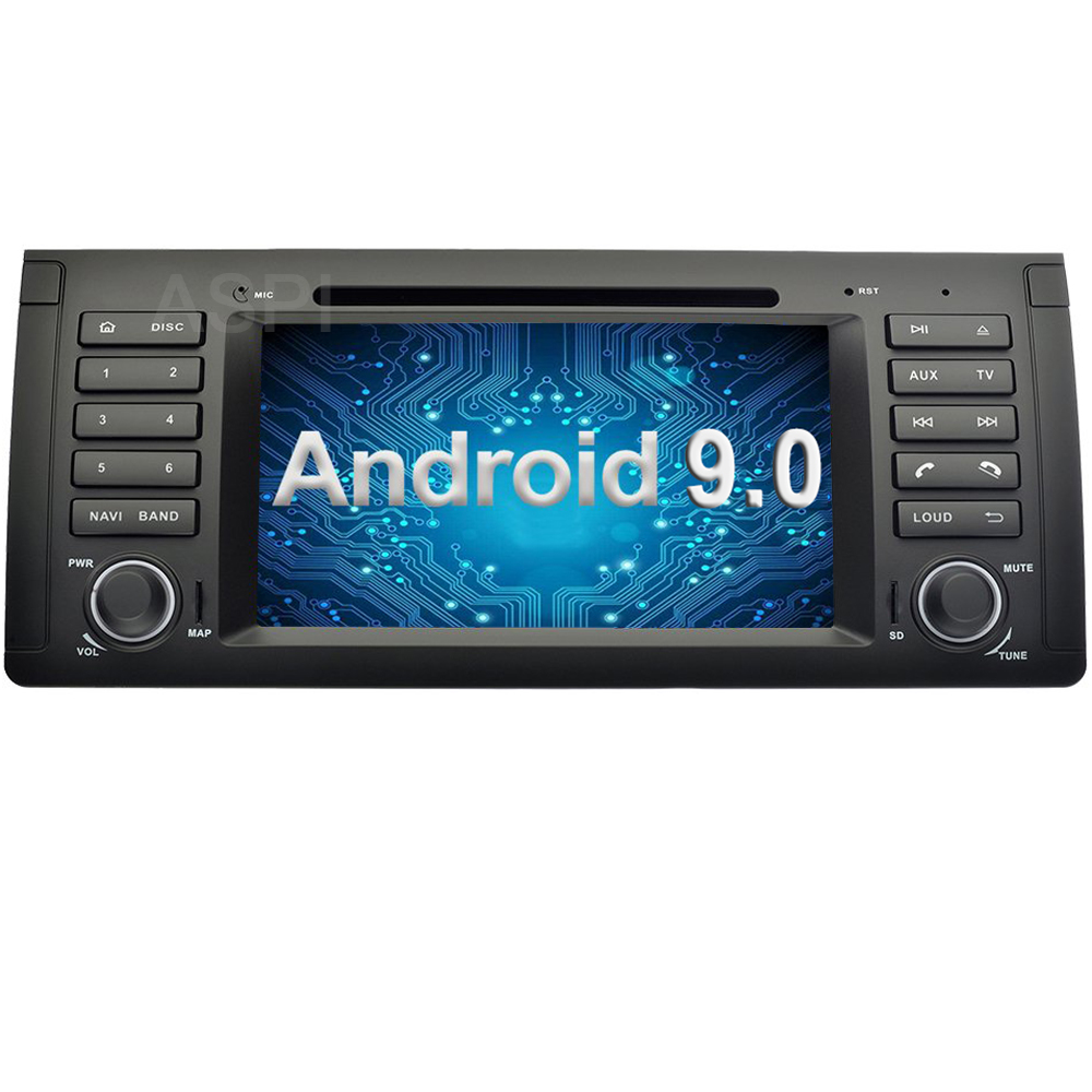 Android 9.0, lecteur dvd De Voiture Pour BMW E46 M3 Land Rover 75 Au Tableau de Bord De Voiture stéréo audio navigation gps, 2 DIN Redio Récepteur