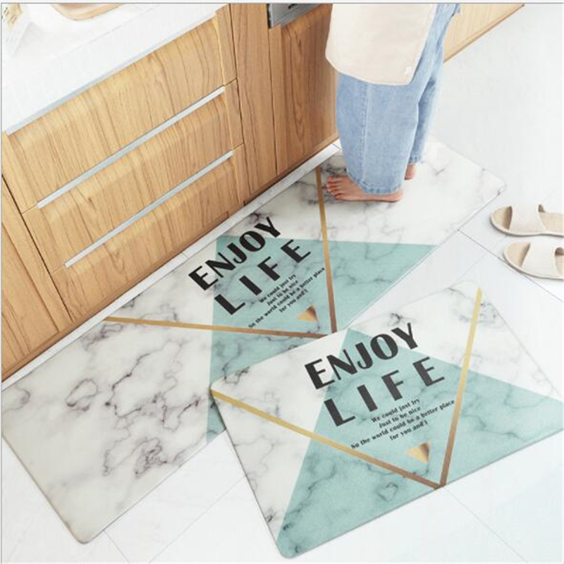 45x75cm 45x150cm Soft Pvc Kitchen Mats