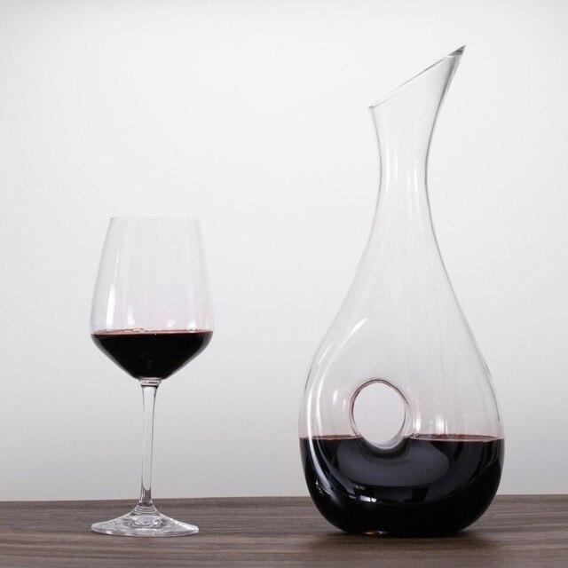 Wein Dekanter snail weinkaraffe bleifreien wein karaffe zubehör große dekanter