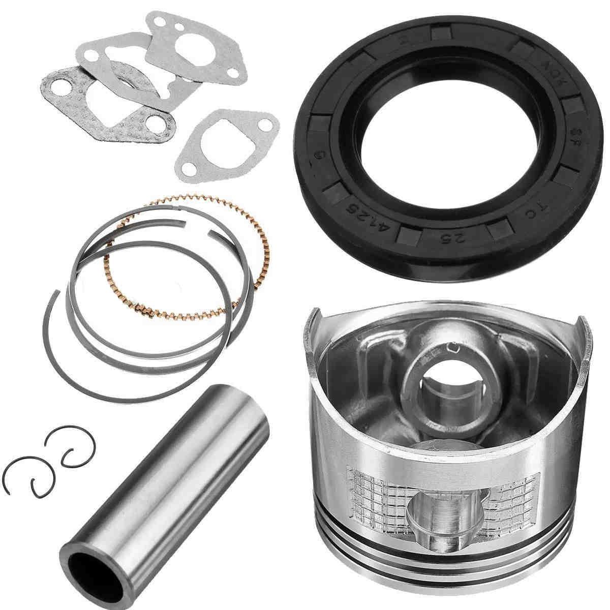 DWZ Rebuild Kit Set w/ Piston Ring + Gasket For GX160 GX200 5.5 6.5HP Engine New jiangdong engine parts the jd495b engine the set of piston group with gasket kit