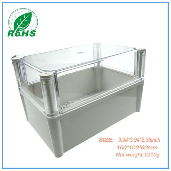 Transparent Enclosure Waterproof Small Plastic Unwaterproof