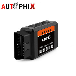 Image 1 - Mini ELM327 Bluetooth OBD2 v1.5 ELM 327 with PIC18F25K80 Chip OBD2 Adapter Elm 327 OBDII Auto Diagnostic Tool OBD2 Scanner