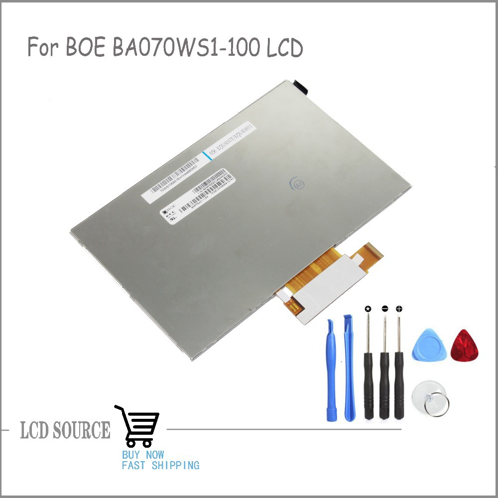 OEM 7 Inch For BOE BA070WS1-100 LCD Display LCD Module Glass Replacement Parts Free Tools
