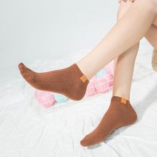 2 Pairs/Lot Socks Ladies Summer New Japanese Style Cotton Solid Color Boat Women 5 Colors