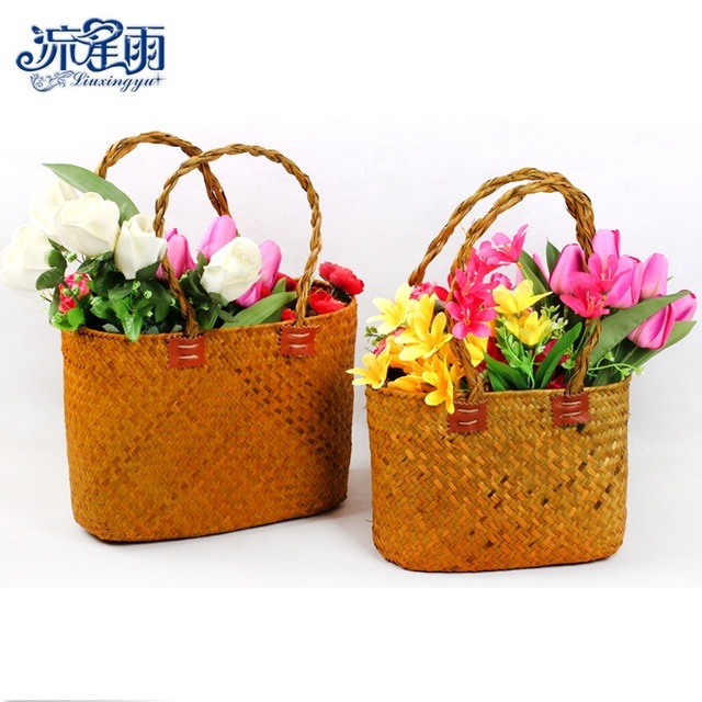 seaweed hand flower baskets creative flowers flower arrangement hand ...