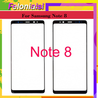 """samsung note 3 10Pcs/lot 6.3"""" For Samsung Galaxy Note 8 NOTE8 N9500 N9500F N950F SM-N950F Touch Screen Front LCD Glass Panel Outer Glass Lens (1)"""