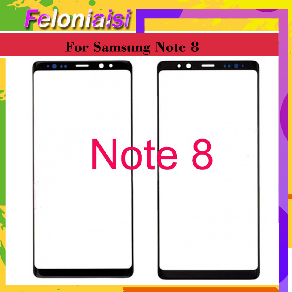 """6.3"""" For Samsung Galaxy Note 8 NOTE8 N9500 N9500F N950F SM-N950F Touch Screen Front LCD Glass Panel Outer Glass Lens"""