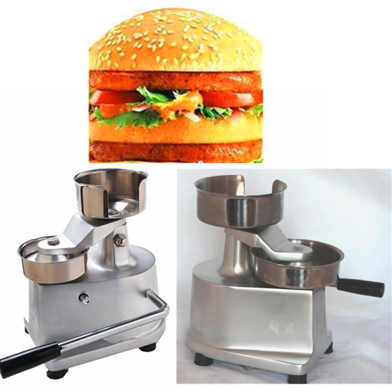 Manual stainless steel hamburger patty forming machine burger patty making machine hamburger meat pie press machine meat pie maker hand press hamburger patty making forming machine