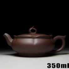 Authentic Ceramic Teapot Yixing Teapots 350ml Bouns 3 Cups Chinese Handmade Purple Clay Pot Kung Fu Set Porcelain Kettle Sets