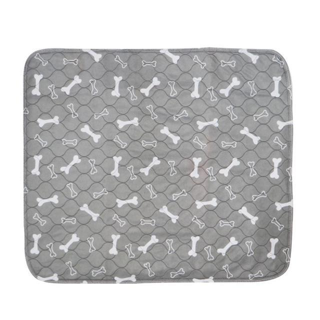 Pet absorvente estofamento três-camada impermeável pvc pet fralda lavável reutilização compartimento do cão urina colchão suprimentos para animais de estimação