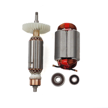 Rotor de ángulo eléctrico de armadura de AC220 240V, moledor de estator para MAKITA GA5030 GA4530 GA4030 GA5034 GA4534 GA4031 GA4030R GA4034
