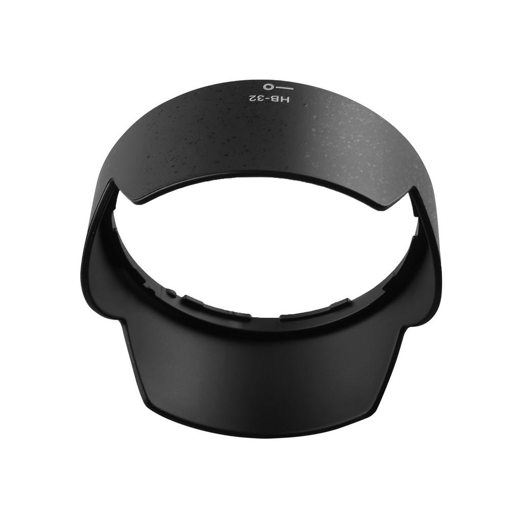 capsaver HB-32 Lens Hood for Nikon 18-105mm f/3.5-5.6G ED VR 18-70mm f/3.5-4.5G IF-ED Bayonet Petal Lens Protector for Nikon 4