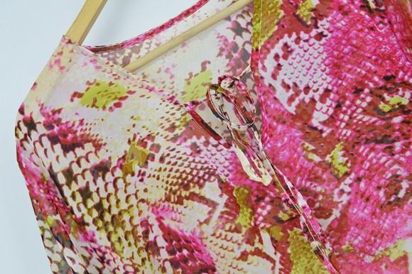 New Arrivals Beach Caftan Swimsuit Cover up Print Chiffon Pareo Women Robe Plage Swimwear Dress Sexy Sarong Beach Tunic #Q152 12
