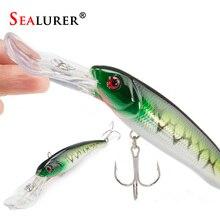 Sealurer Big tongue Minnow Fishing Lure Float Wobbler 16cm 27 5g Sea Fly Pesca Hard Bait