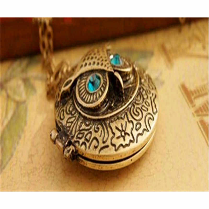 2017 sweater chain necklace round shape boxes design can be opened long chain elegant necklace for women girls X120