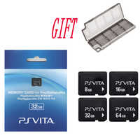 For Sony PS Vita PSV 1000 2000 4G 8G 16G 32GB 64GB Memory Card for PSVita Memory Card Original with gift Storage Box