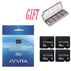 Para Sony PS Vita PSV 1000, 2000 4G 8G 16G 32 GB 64 GB tarjeta de memoria PSVita tarjeta de memoria Original con regalo caja de almacenamiento