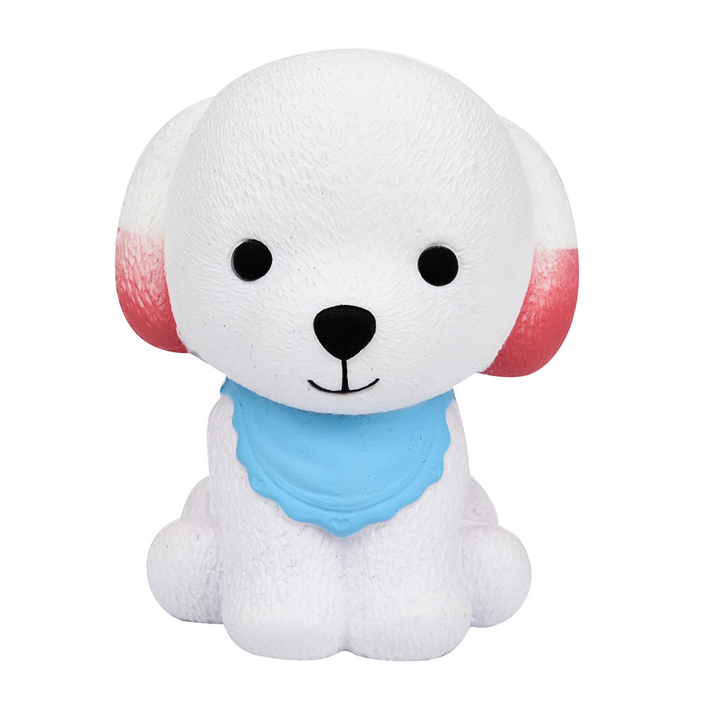 Kawaii Squishies Cartoon Puppy Squish Antistress Squeeze Cute Funny Toys 30S8115 drop shipping