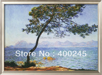 Claude Monet art reproductions of Antibes Trees paintings Landscape Art High quality hand painted